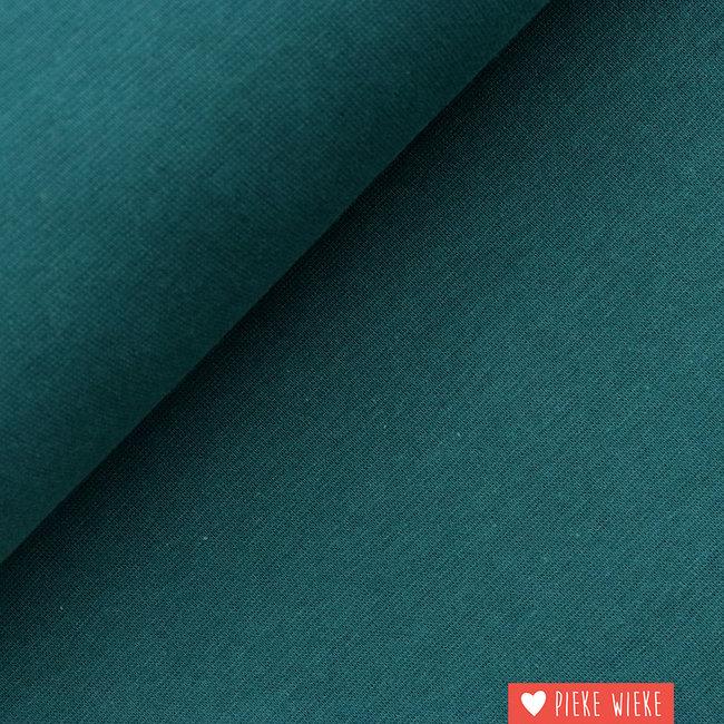 Boordstof GOTS Donker groen