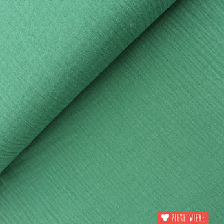 Fibre Mood Double gauze cotton Green