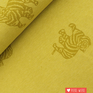 Fibre Mood Jacquard Tiger Yellow