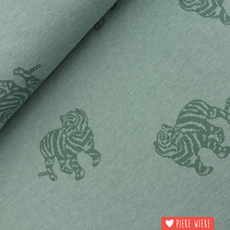 Fibre Mood Jacquard Tiger Green