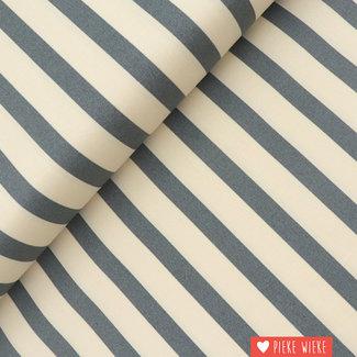 Fibre Mood Striped stretch cotton Molly