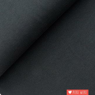 Uni tricot GOTS Zwart