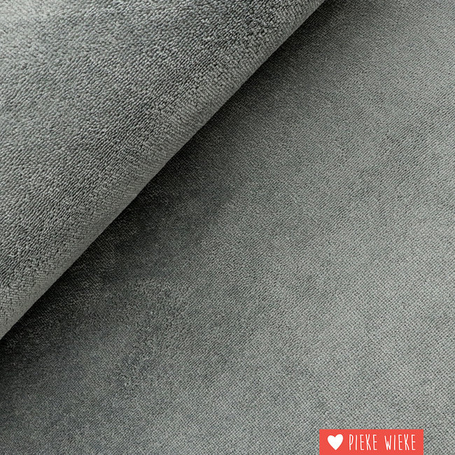 Bamboo terry Extra soft Grey