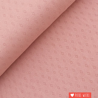 Ajour tricot Roze