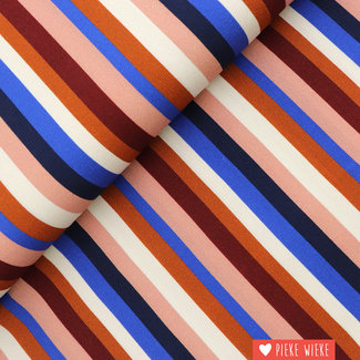 Viscose crepe Stripes