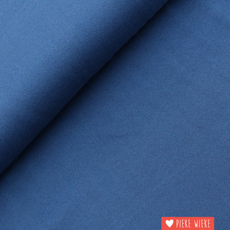 Viscose Crepe Blue