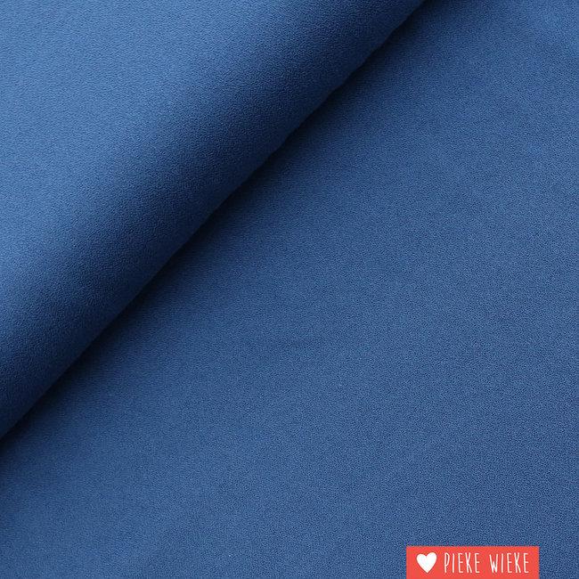 Viscose Crepe Blue