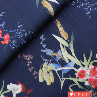 Viscose Cornflower Blue