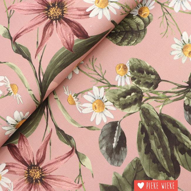 Poppy Canvas  Flowers Pink