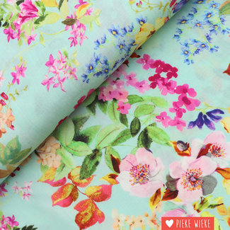 Tencel Flower Mint