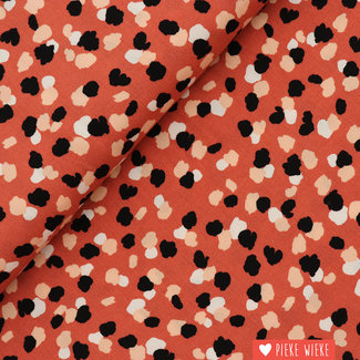 Viscose  radiance Pumpkin orange