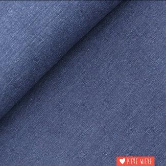 Sorona linnen Jeansblauw