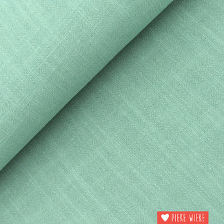 Viscose linnen Old green