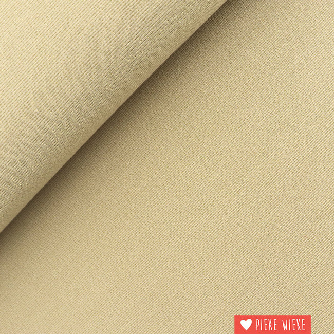 Viscose tricot sparkling Light gold
