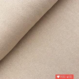 Fine knitted glitter viscose Pastel rose tan