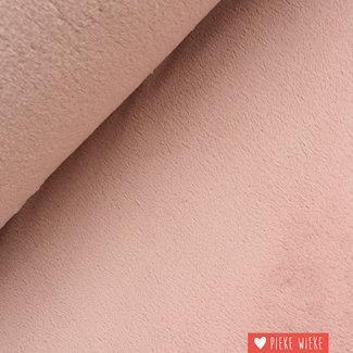Teddy fleece soft light pink