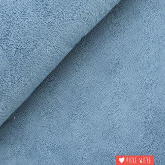 Teddy fleece soft whale blue