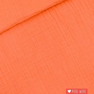 See You at Six Double gauze uni Persimmon Orange