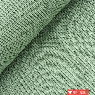 Chunky knit cotton blend Mint