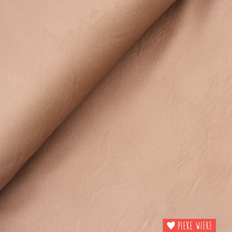 Imitation leather Metallic old pink