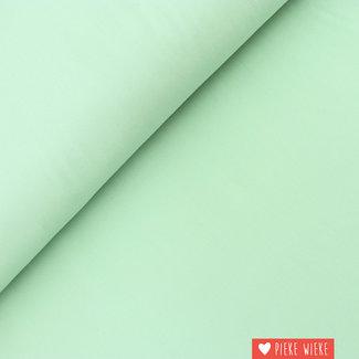 Uni cotton GOTS Pastel mint