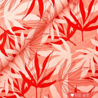 Lily Balou Tencel Ecovero Palm leaves