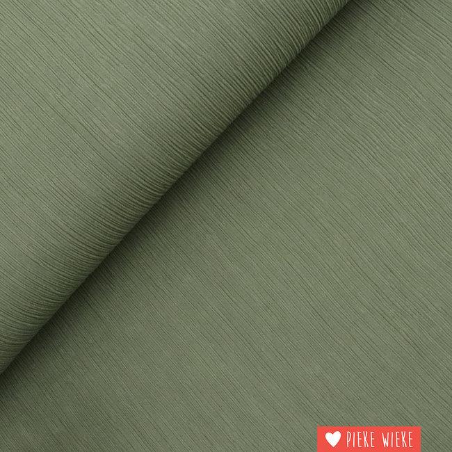 Fibre Mood Structured viscose Moss green
