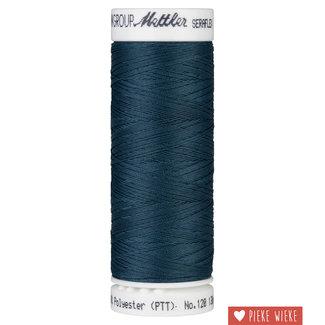 Amann Mettler Seraflex elastisch garen 130m /0485 Tartan Blue