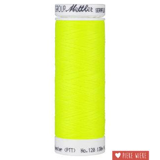 Amann Mettler Seraflex elastisch garen 130m /1426 Fluo geel