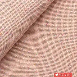 Texture cotton Pink
