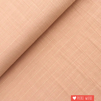 Katia Cotton Sari Striped Pink - Gold