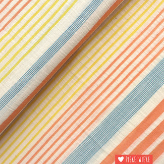 Katia Cotton panama striped Koral