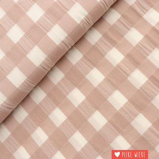 Katia Cotton big vichy Sand pink