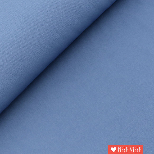 Double wave 4-way Hudson bay blauw