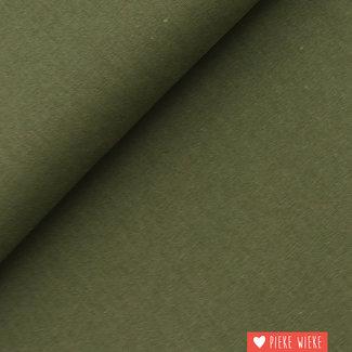 Recycled Mixed Linen Artichok green