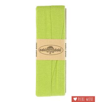 Elastische biais tricot Lime