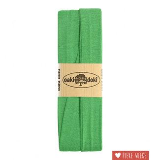 Elastische biais tricot  Groen