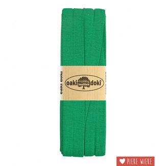 Elastische biais tricot Klaver groen