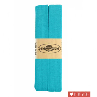 Elasticated tricot Turquoise