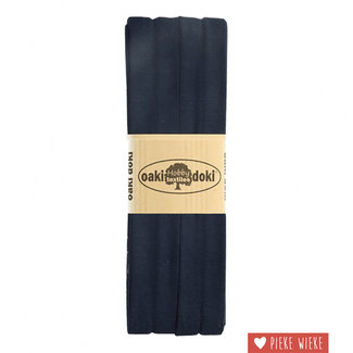 Elasticated tricot Navy