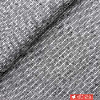 Cotton Check Grey