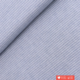 Cotton Check Blue