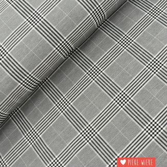 Bengal Checkered Black and White
