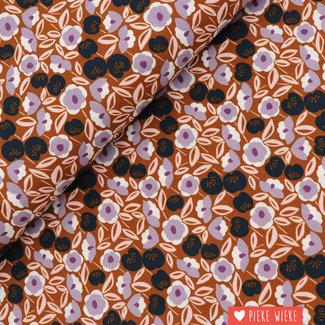Cotton + Steel Katoen Joani Paars