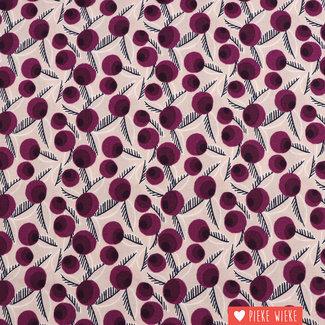 Cotton + Steel Cotton Betty Jean Purple
