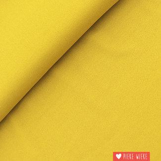 Fibre Mood Viscose Crepe Mustard Yellow