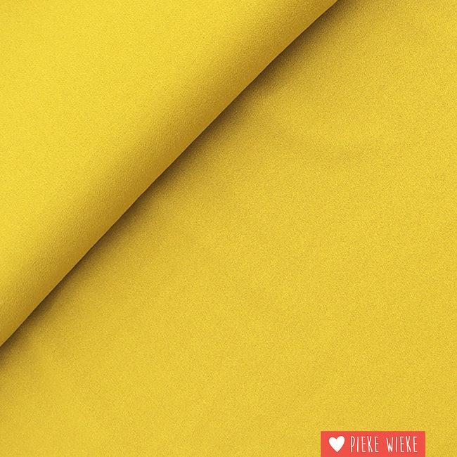 Fibre Mood Viscose Crepe Mosterd geel