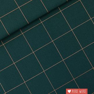 See You at Six Canvas katoen Thin Grid - XL