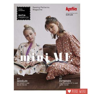 Katia Mini Me Autum/Winter sewing magazine Katia