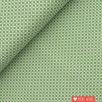 Cotton Little cross Green